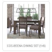 COS-BEENA DINING SET (1+6)